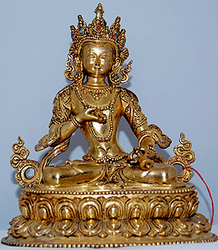 Ref #90 Tibetan Gilt Bronze Sculpture from our Tibet Art web catalogue
